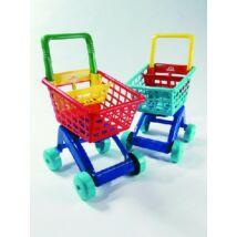 Műanyag bevásárlókocsi - 5022