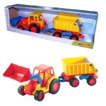 Basic traktor utánfutóval WADER 37657