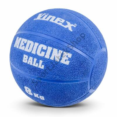 Medicinlabda, 8 kg VINEX POWER RUBBER - SportSarok