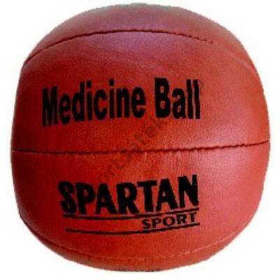 Medicinlabda, bőr, 5 kg SPARTAN - SportSarok