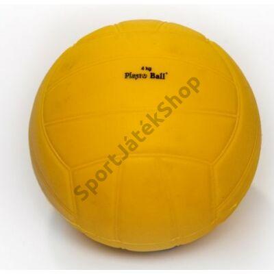 Súlylökő golyó, tornatermi - 4 kg PLASTO - SportSarok