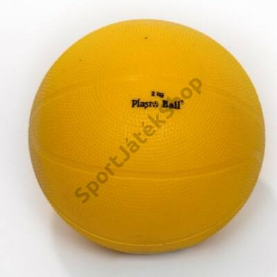 Súlylökő golyó, tornatermi - 2 kg PLASTO - SportSarok