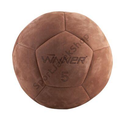 Medicinlabda, bőr, 5 kg WINNER - SportSarok