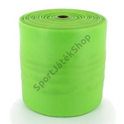 Erősítő gumiszalag, 30 m, zöld SPARTAN - SportSarok