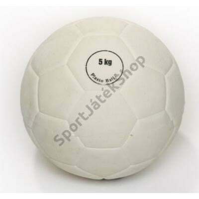 Súlylökő golyó, tornatermi - 5 kg PLASTO - SportSarok