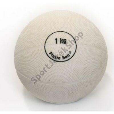 Súlylökő golyó, tornatermi - 1 kg PLASTO - SportSarok