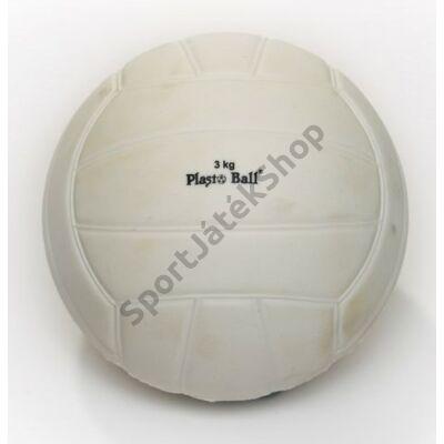 Súlylökő golyó, tornatermi - 3 kg PLASTO - SportSarok