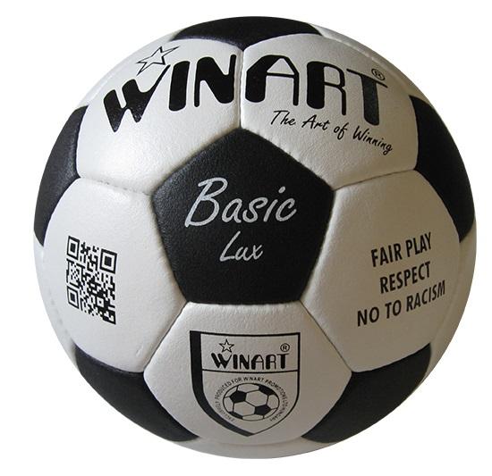 8960940435 Bőr focilabda, 5-s méret WINART BASIC LUX (Bőr, szintetikus edző- és  iskolai focilabdák) 4.480 Ft-ért